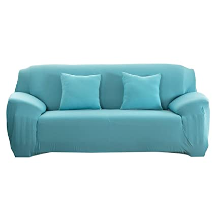 Amazon.com : Fashion Slipcover Stretchable PureColor Sofa ...