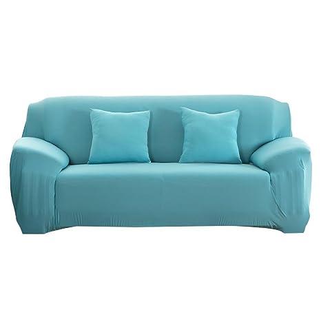 Amazon.com : Fashion Slipcover Stretchable PureColor Sofa ...