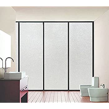 Amazon Com Bloss Frosted Contact Paper Privacy Window