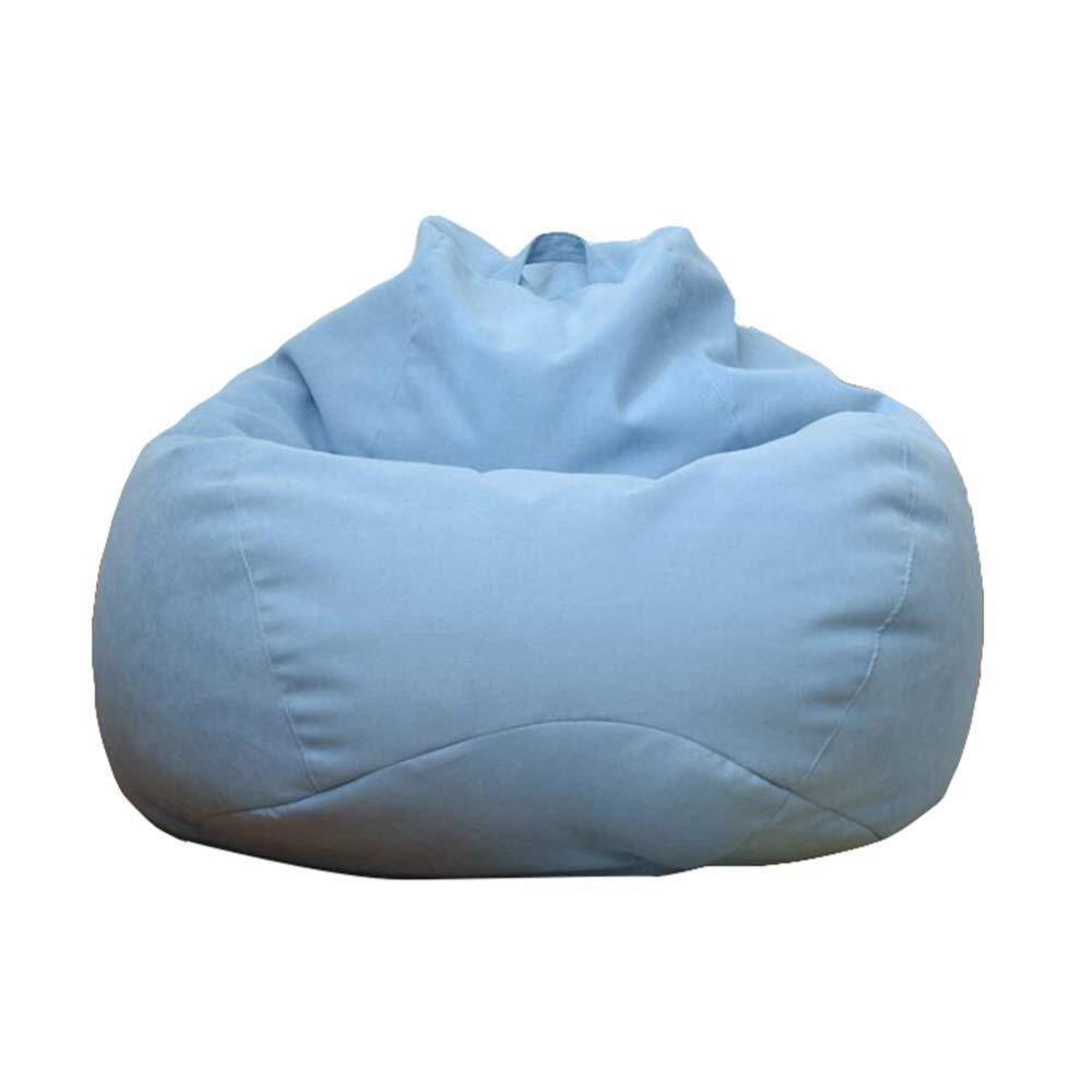 a precios asequibles azul 8090cm Clásico Bean Bag Chair Adultos Perezoso Sofá Sofá Sofá Silla de Piso Estable Cómodo Hogar o jardín Adecuado para Juegos (Color   Khaki, Talla   100  120cm)  Compra calidad 100% autentica