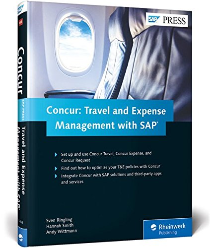 Concur  Travel And Expense Management With Sap  Sap Press