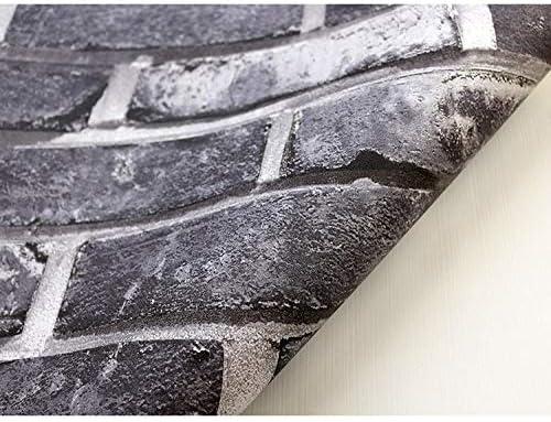 壁紙アプリ取り外し可能な壁紙の皮とスティックの壁紙 3D三次元のレトロなレンガ造りの衣料品店レストラン壁紙青レンガ赤レンガのパターンPVCの背景ウォールペーパー壁紙装飾壁装飾材 (Color : C, Size : 0.53X9M)