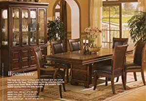 Amazon Com Westminster Collection Dining Set Table With