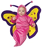 Deluxe Baby Bunting, Butterfly Costume, 0 to 9 Months