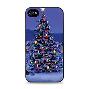 516 Christmas Tree Apple iPhone 5 Silicone Case - Black