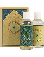 Deluxe massageolie cadeauset (2x100ml) Lumunu Sinnesduet, voor ontspannend massagegenot