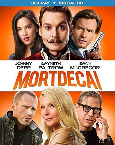 Mortdecai [Blu-ray + Digital HD]