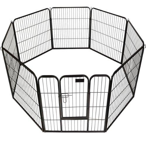 "Pet Playpen Panel Heavy Duty Dog Cat Exercise Pen Fence (40"" H x 31"" W)"