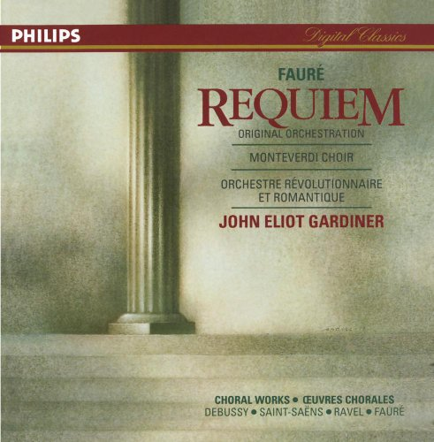 Choral Works Cd (Fauré: Requiem; French Choral Works)