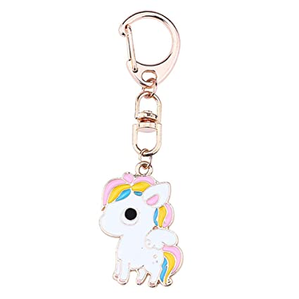 Doitsa Llavero Animal, Unicornio, Metal Moda Kawaii, Bolso ...