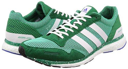 Hi para Zapatillas White M Verde White Bold Adidas Green de Deporte Adizero S18 Green Adios Ftwr Green Green res S18 Ftwr Hombre Bold Hi res nqztwFtY