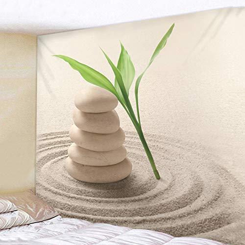 XINSU Home Grüner Pflanzenwindkunstwandteppich Hauptteppich (Größe (Größe (Größe   200x180) B07LD8Q189 Wolle 7007a2