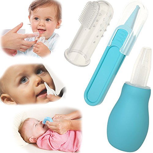 ZmZm Deep Sleep And Grooming Kit For Newborns, Infants & Toddlers. Smart Interactive Soother With Cry Sensor & Healthcare Kit (Bundle-11 items:1 Baby Soother + 10 Pcs Baby Nursery kit)-Blue by ZmZm (Image #5)