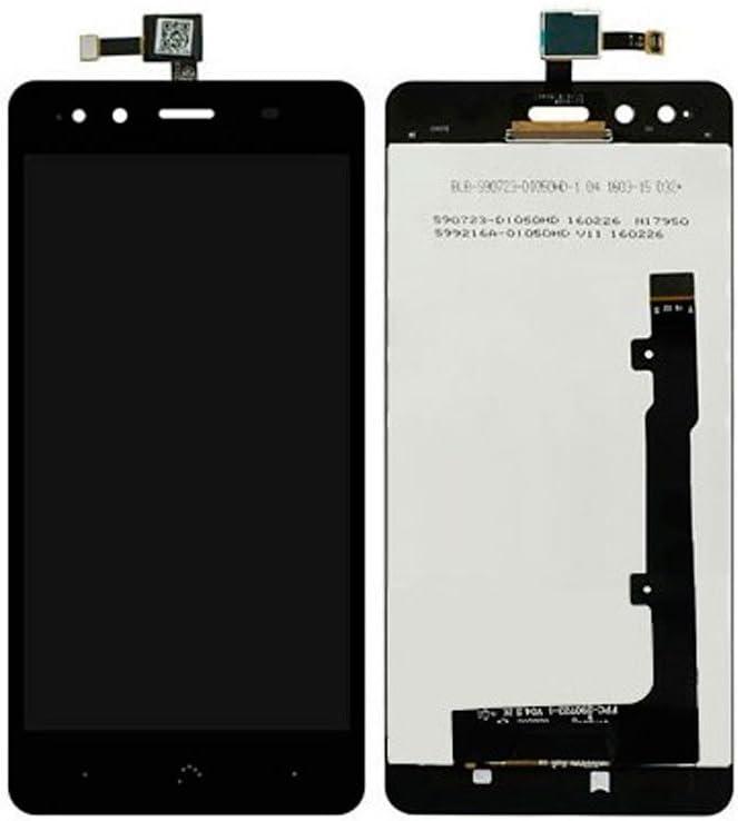 E-NUC Pantalla LCD + Tactil BQ Aquaris X5 Negro: Amazon.es ...
