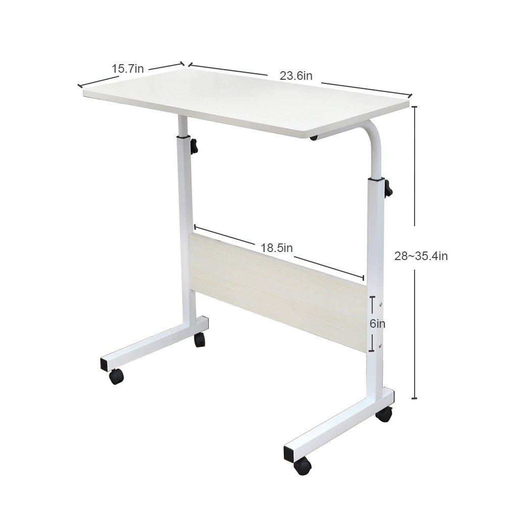 Amazon.com : Soges Adjustable Lap Table Portable Laptop Computer ...