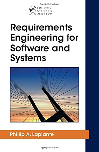 Price comparison product image Requirements Engineering for Software and Systems (Applied Software Engineering Series)