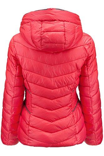 Rosa Ski Pour Capuche À Femme Veste Courte D'hiver Tq0vzv
