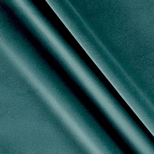 P Kaufmann 0558520 Imperial Velvet Drapery Aegean Fabric by The Yard