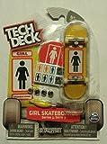 Tech Deck ULTRA RARE Girl Skateboards ''Brandon Biebel'' Series 3 Finger Skateboard