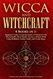 Wicca and Witchcraft: 4 Books in 1: Beginner's