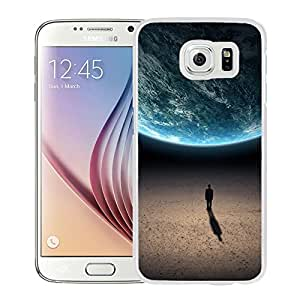 Alone in the universe (2) Hard Plastic Samsung Galaxy S6 G9200 Protective Phone Case