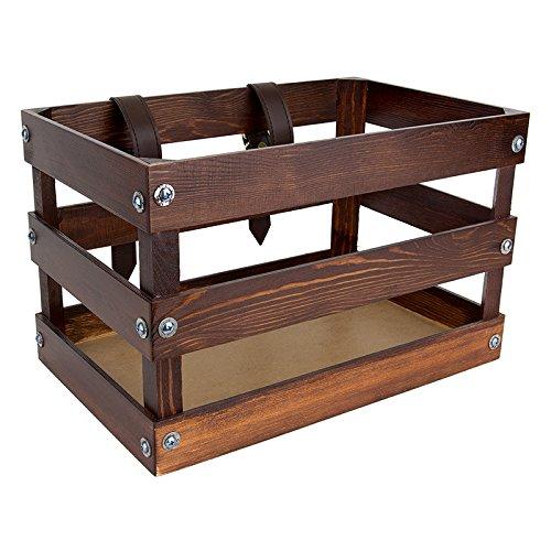 """Sunlite Classic Crate, 14 x 9 x 9"""", Brown"""