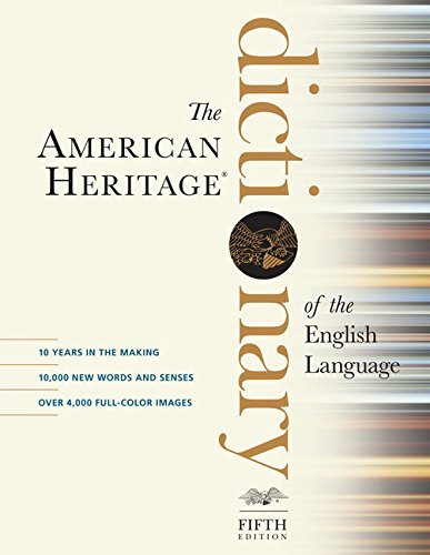 The American Heritage Dictionary of the English Language, Fifth Edition by Houghton Mifflin