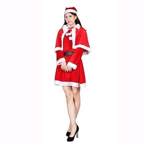 DYMAS Navidad Ropa Hombre Viejo Mujer Vestido de Traje de ...