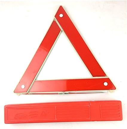 rot Sunnyflowk Auto Auto Sicherheit Notfall Reflektierende Warndreieck Rot-Auto-Warnzeichen
