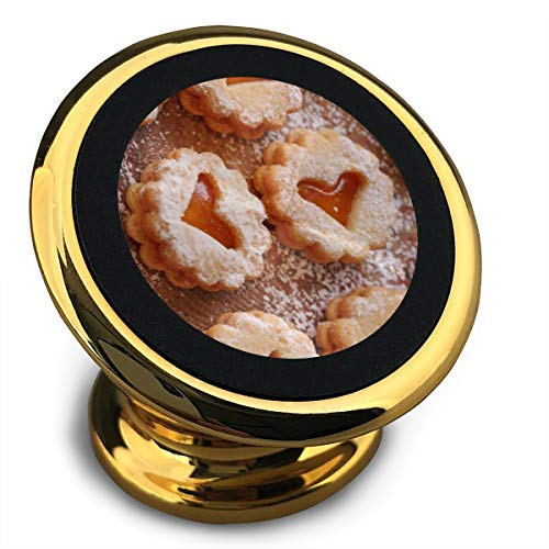 Baerg Universal Magnetic Phone Car Mounts Magnet Holder Hearts Biscuits Magnetic Mount for Phone 360° Rotation
