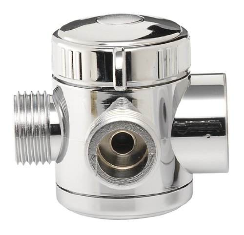 Plumb Craft 7653900 3-Way Shower Diverter Valve, Chrome by Plumb Craft