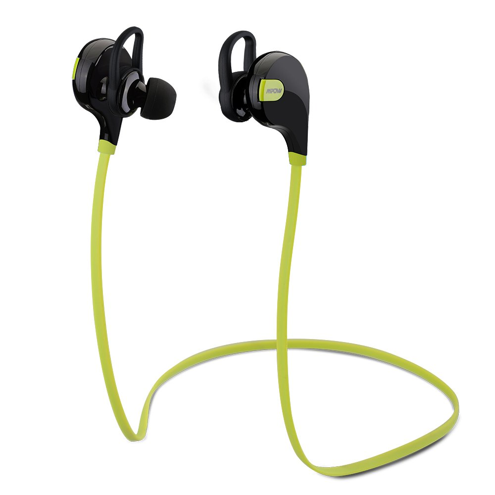 Mpow Swift Auricolari Wireless Bluetooth 4.0 Headset Stereo Cuffie Sportive a Prova di Sudore con Microfono e AptX Tecnologia - Blu