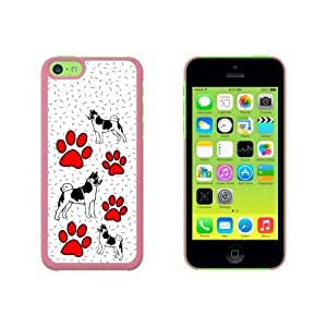 Akita of Magnificence Snap On Hard Protective For HTC One M7 Phone Case Cover - Pink