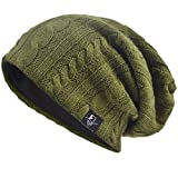 9585df3799ccf VECRY Men s Cool Cotton Beanie Slouch Skull Cap Long Baggy Hip-hop Winter Summer  Hat