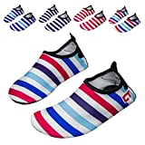 norocos Boys Lightweight Water Shoes Soft Barefoot Shoes Quick-Dry Aqua Socks for Girls Beach Swimming Surf Pool Exercise