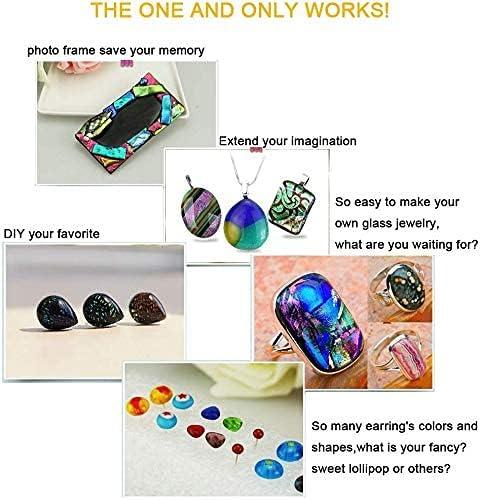 Mikrowellenofen DIY Fusing Glass Jewelry Professionelle einfache Herstellung