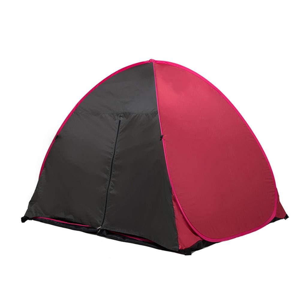 MODKOY 1-2 Personen im Strandzelt, automatischem Pop-Up, sonnengeschütztem ultraleichtem Zeltcamping und Outdoor-Aktivitäten - 1KG