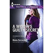 A Widow's Guilty Secret   Marie Ferrarella