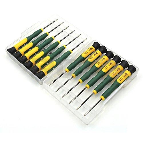 2 opinioni per Kit con 12 cacciaviti magnetici per l'elettronica per iPhone iPad MacBook