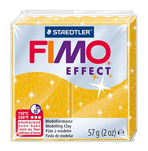 Fimo Effects - Glitter Gold - 56g (2oz)
