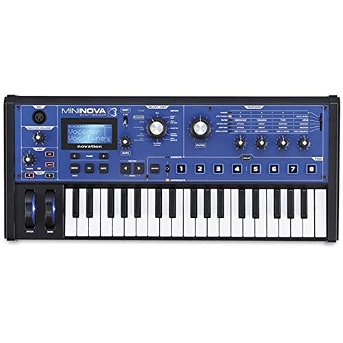 Novation MiniNova 37-Mini-Key Compact Analog Modeling Synthesizer
