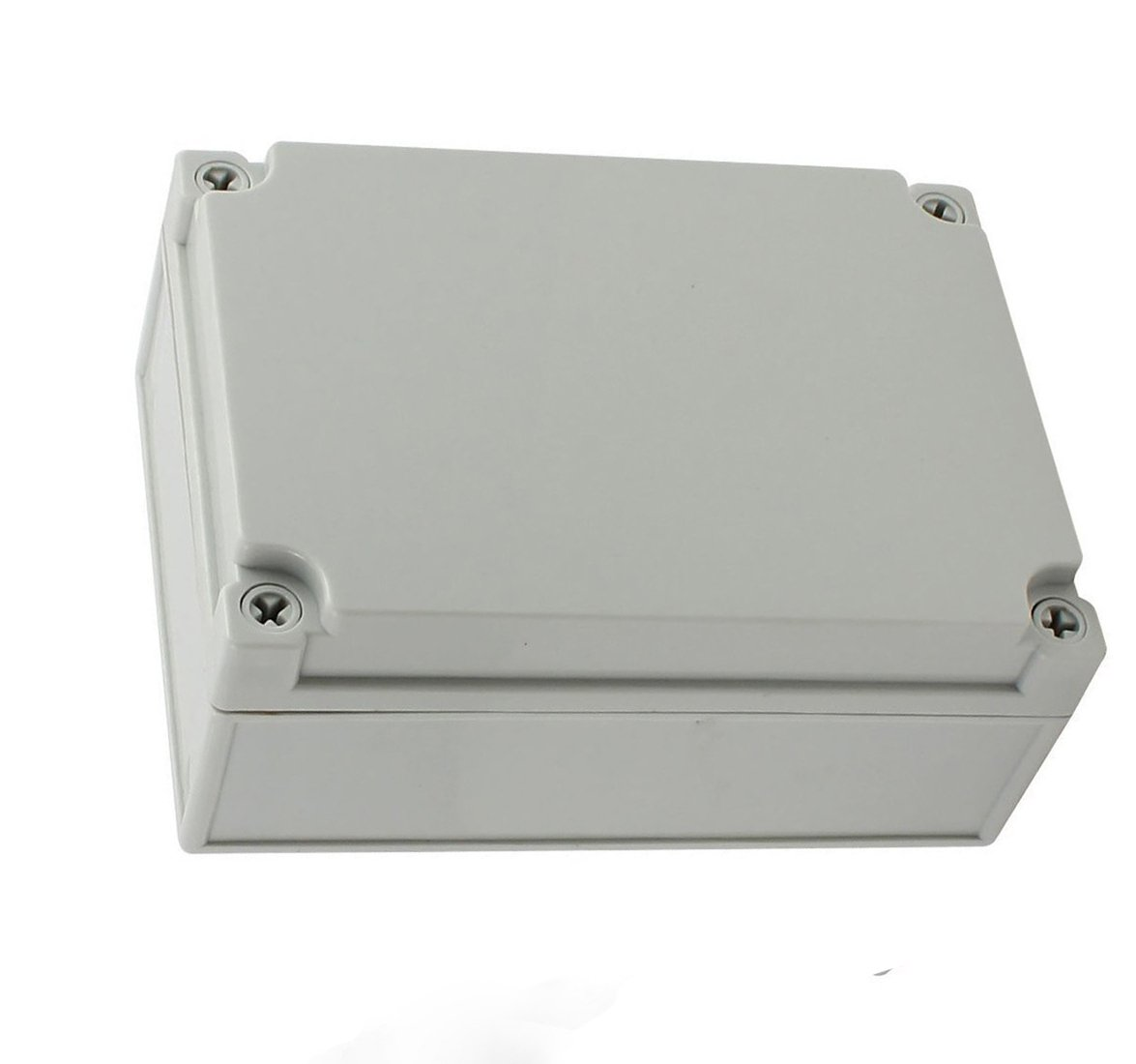 YXQ 175 x 125 x 75mm Electrical Project Case Junction Box IP65 Waterproof ABS DIY Power Outdoor Enclosure Gray (6.9 x 4.9 x 3 inches)