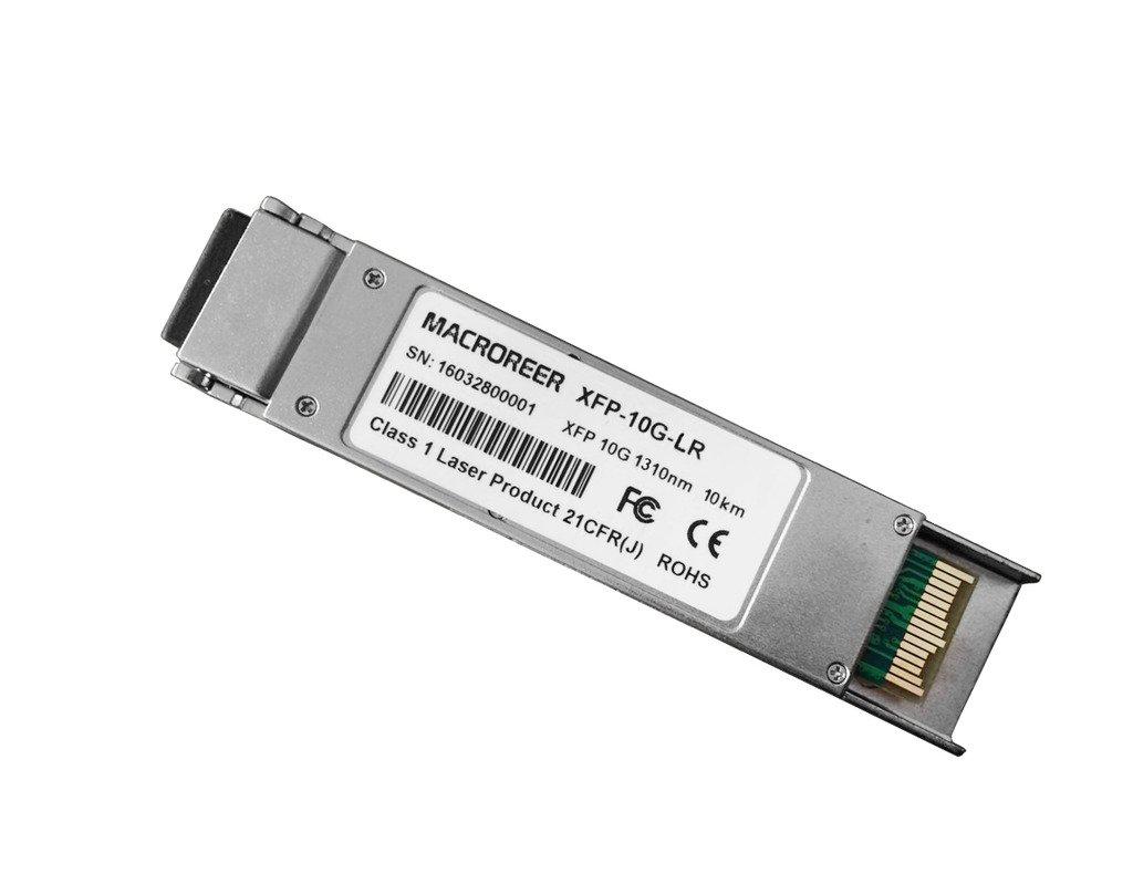Macroreer for Brocade 10G-XFP-LR XFP LR Transceiver 10Gb/s 1310nm 10km by Macroreer