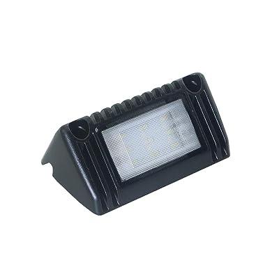 Raycharm 5 Inch 9W 900 Lumens 6000K Flood Beam LED Light Fixture for RV & Utility Vehicles (1 Pack): Automotive