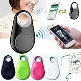4 Piece Set Smart Dog Bluetooth Locator Pet Tracker w/Alarm Remote Selfie Shutter Release, Wireless Smart Bluetooth Tracker For your Pets, Phone, Elderly or Childern. You Get All Four Colors