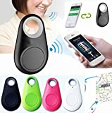 4 Piece Set Smart Dog Bluetooth Locator Pet Tracker w/Alarm Remote Selfie Shutter Release, Wireless Smart Bluetooth Tracker For your Pets, Phone, Elderly or Childern. You Get All Four Colors
