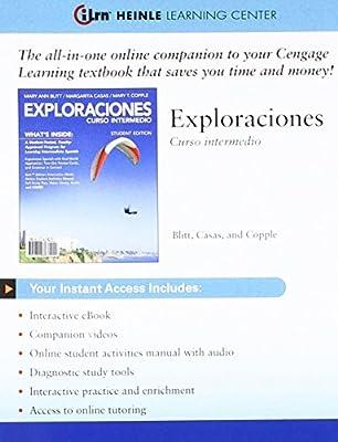 Bundle: Exploraciones Curso Intermedio, Enhanced + iLrn
