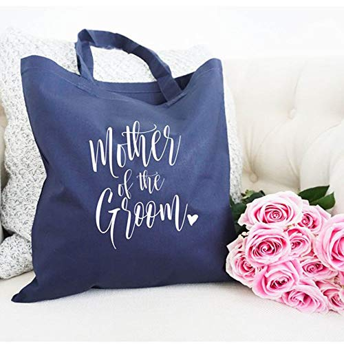 Best quality Mother of the Groom tote, Wedding Party Tote, Wedding Party Gift, Tote Bag, Wedding Gift, Personalized Tote, Bridal Party Tote]()