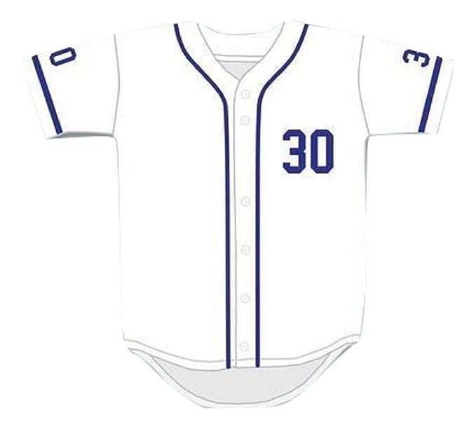 Mike Vitar Benny  The Jet  Rodriguez 30 White Baseball Jersey The Sandlot  (34 93d3cb2f7