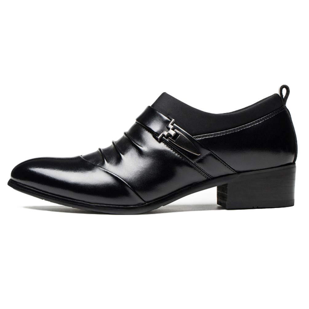 Scarpe da Uomo Pelle Scarpa Vestito Commerciale per Uomo Senza imbardata Scarpa Basso della Citt/à Morbido Resistente allUsura